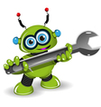 Robot for Repairs vector image vector image