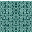 Seamless fir pattern vector image