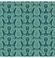 seamless fir pattern vector image
