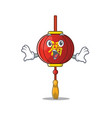 surprised asian lantern face gesture on cartoon