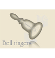 bell ringers vector image vector image