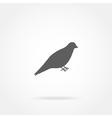 bird icon vector image vector image