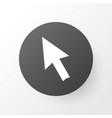 cursor arrow icon symbol premium quality isolated vector image
