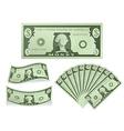 Dollar Bill vector image vector image