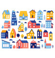 Doodle cottages cute tiny town houses minimal