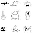 Doodle of Halloween for kids vector image vector image