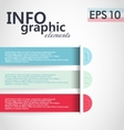 Infographic elements lemplate vector image