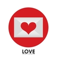 love icon vector image
