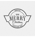 Merry christmas insignia and labels for any use vector image vector image