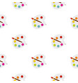 palette pattern seamless vector image vector image