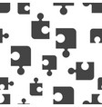 puzzle seamless pattern background icon business vector image vector image