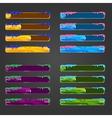Set of bar downloader vector image