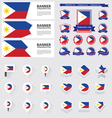 SET Philippines vector image