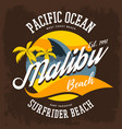 Surfrider beach t-shirt print or label