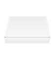 white box 05 vector image