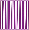 background with violet and white vertical stripes vector image vector image