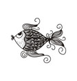 beautiful fish vector image