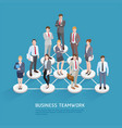 business teamwork concepts people vector image vector image