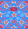 chinese new year chinese lantern chinese clouds vector image