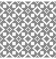 cross stitch seamless decorative pattern vector image