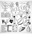 Ecology nature doodles vector | Price: 1 Credit (USD $1)