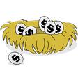 Financial nest vector image vector image
