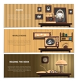Retro Banners Set vector image vector image