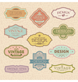 Vintage retro frames vector | Price: 1 Credit (USD $1)