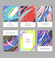 retro abstract backgrounds with texture in vector image