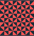 bright red-black tiles a triangular shape vector image vector image