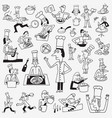 cook character cartoons vector image