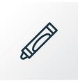 crayola icon line symbol premium quality isolated vector image vector image