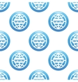 Global network sign pattern vector image vector image