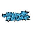 Graffiti urban art vector image vector image