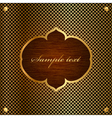 oriental style frame vector image vector image