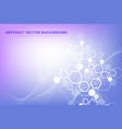 Scientific molecule background for medicine