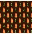 seamless pattern with cute Carrots vector image vector image