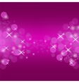Abstract Pink Circle Background vector image vector image
