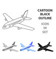 aircraft for transportation of a large number of vector image vector image