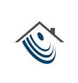 automation smart home logo concept graphic design