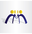 business people team work vector image vector image