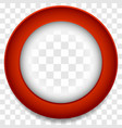 circle frame icon abstract lens element colorful vector image vector image