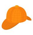 english hat icon cartoon style vector image vector image