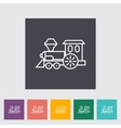 train toy vector image