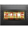 2012 new year vector image vector image