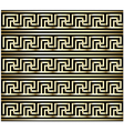 Greek Key Swastika Design vector image vector image