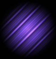 Hi-tech abstract violet background striped texture vector image