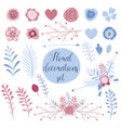 love collection set for cards perfect for vector image vector image