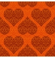 Seamless Pattern Valentine Hearts vector image vector image