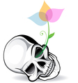 Skull Artistic vector image vector image